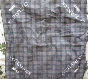 Outlander 2014 Comic-Con promo cloth bandanna or scarf