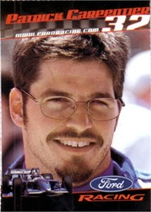Patrick Carpentier 2001 Ford Racing Sports Illustrated for Kids card