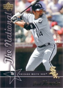Paul Konerko 2005 Upper Deck National Convention promo card #/750