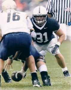 Paul Posluszny 8x10 Penn State photo