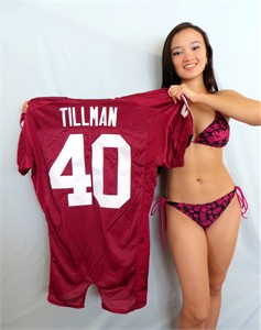 Pat Tillman Arizona Cardinals authentic Nike stitched pro cut jersey BRAND NEW