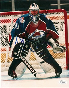 Patrick Roy autographed Colorado Avalanche 8x10 photo (JSA)