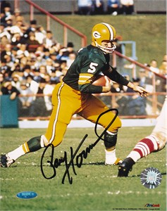 Paul Hornung autographed Green Bay Packers 8x10 photo