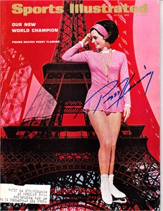 Peggy Fleming autographed 1968 Olympics Sports Illustrated