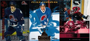 Peter Forsberg 1995 Stadium Club Members Only card MINT