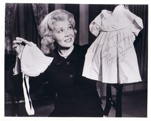 Penny Singleton autographed Blondie 8x10 photo (personalized) JSA