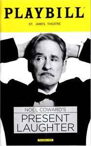 Present Laughter 2017 Playbill magazine (Kevin Kline cover)