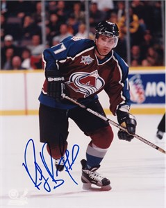 Ray Bourque autographed Colorado Avalanche 8x10 photo