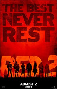 Red 2 movie mini 11x17 poster (Bruce Willis Helen Mirren Anthony Hopkins)
