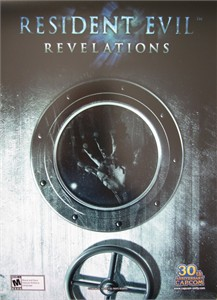 Resident Evil Revelations video game CAPCOM promo 14x20 poster