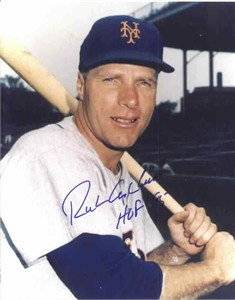 Richie Ashburn autographed 8x10 New York Mets photo