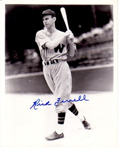 Rick Ferrell autographed Washington Senators 8x10 photo