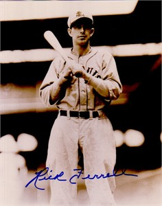 Rick Ferrell autographed St. Louis Browns 8x10 photo