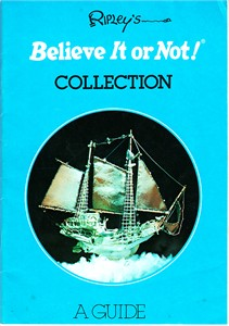 Ripley's Believe It or Not! Collection original 1978 guide booklet