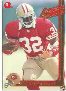 Ricky Watters 49ers 1991 Action Packed Rookie Card #44 MINT