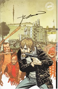 Robert Kirkman autographed Walking Dead comic book issue #181 (2018 Comic-Con variant cover)