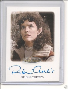 Robin Curtis Women of Star Trek certified autograph card