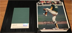 Rollie Fingers autographed Oakland A's 8x10 photo (UDA)