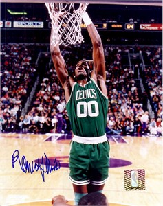 Robert Parish autographed Boston Celtics 8x10 photo