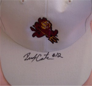 Rudy Carpenter autographed Arizona State Sun Devils cap or hat