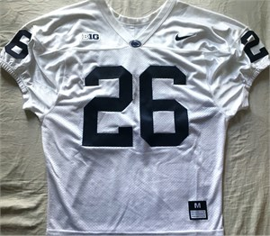 Saquon Barkley Penn State 2016 authentic Nike white stitched wide cut jersey NEW