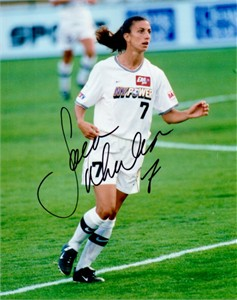 Sara Whalen autographed WUSA New York Power 8x10 photo