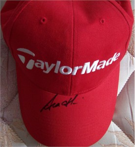 Sean O'Hair autographed TaylorMade golf cap or hat
