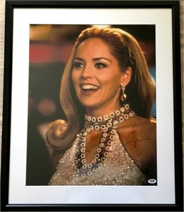 Sharon Stone autographed Casino 16x20 poster size movie photo matted & framed (PSA/DNA)