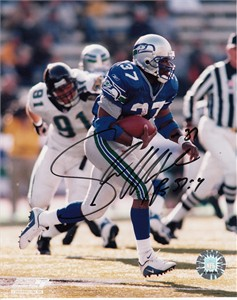 Shaun Alexander autographed Seattle Seahawks 8x10 photo