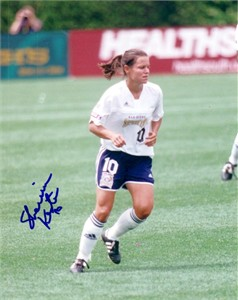 Sherrill Kester autographed WUSA San Diego Spirit 8x10 photo