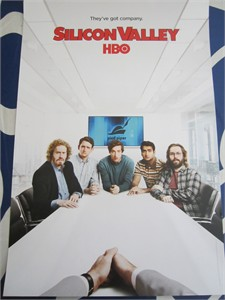 Silicon Valley 2016 Comic-Con 13x20 HBO promo poster (Thomas Middleditch)