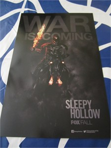 Sleepy Hollow 2014 Comic-Con mini promotional poster