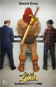 Son of Zorn mini 11x17 2016 Comic-Con Fox promo poster