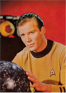 Star Trek Original Series Captain Kirk 5x7 photo card