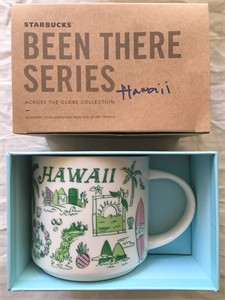 Starbucks 2018 Been There Series Hawaii 14 ounce collector coffee mug NEW