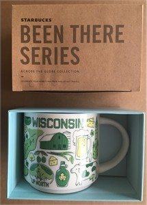 Starbucks 2018 Been There Series Wisconsin 14 ounce collector coffee mug NEW