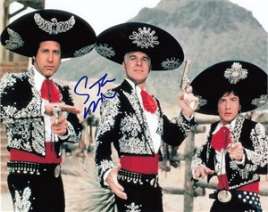 Steve Martin autographed Three Amigos 8x10 movie photo