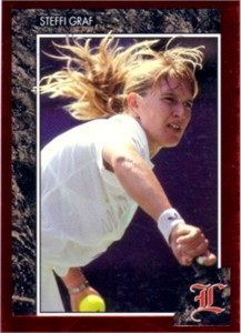 Steffi Graf 1992 Legends card