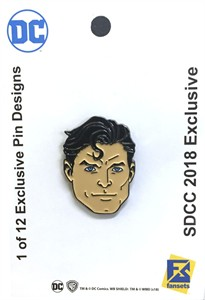 Superman 2018 San Diego Comic-Con exclusive DC pin