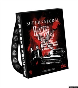 Supernatural 2013 Comic-Con exclusive huge promo tote bag or backpack NEW