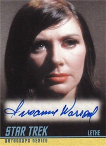 Susanne Wasson Star Trek Original Series certified autograph card