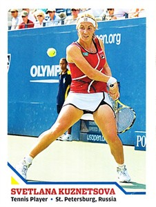 Svetlana Kuznetsova 2008 Sports Illustrated for Kids card #261