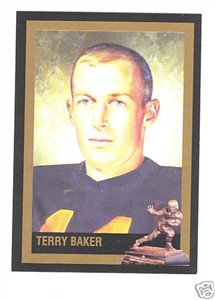 Terry Baker Oregon State 1962 Heisman Trophy winner card