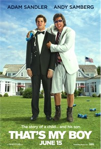 That's My Boy mini movie poster (Adam Sandler Andy Samberg)