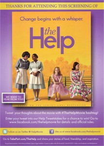 The Help 2011 movie 5x7 promo card (Emma Stone)