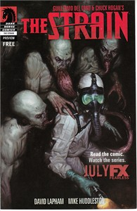 The Strain 2014 Comic-Con Dark Horse mini promo comic book
