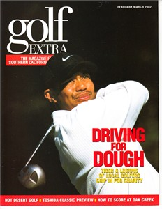 Tiger Woods 2002 Golf Extra magazine