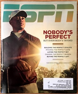 Tiger Woods 2010 ESPN Magazine