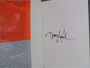 Tony Hawk autographed Occupation Skateboarder hardcover book