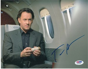 Tom Hanks autographed The Da Vinci Code 8x10 promotional photo